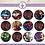 "Thumbnail: Marvel Avengers - 12x 2.25"""