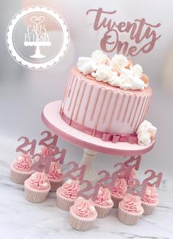 20190712 - 21st Birthday Rose Gold Drip