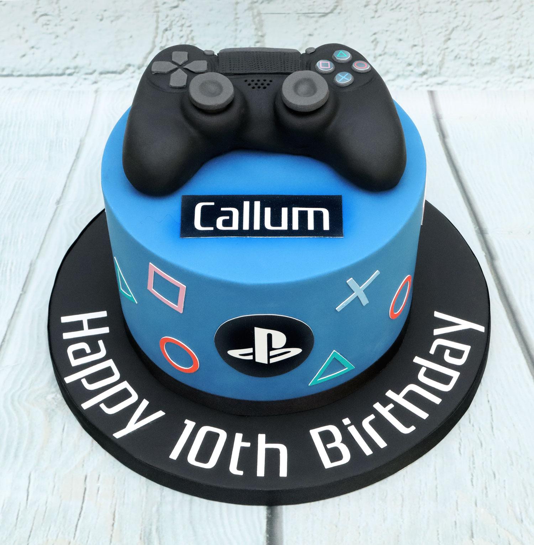 20191220 - Playstation 10th Birthday Cak