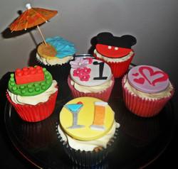 1st Anniversary Cupcakes