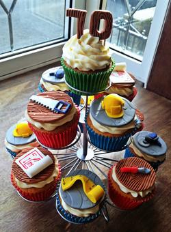 Builders Cupcakes