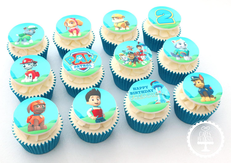 20200702 - Paw Patrol Cupcakes