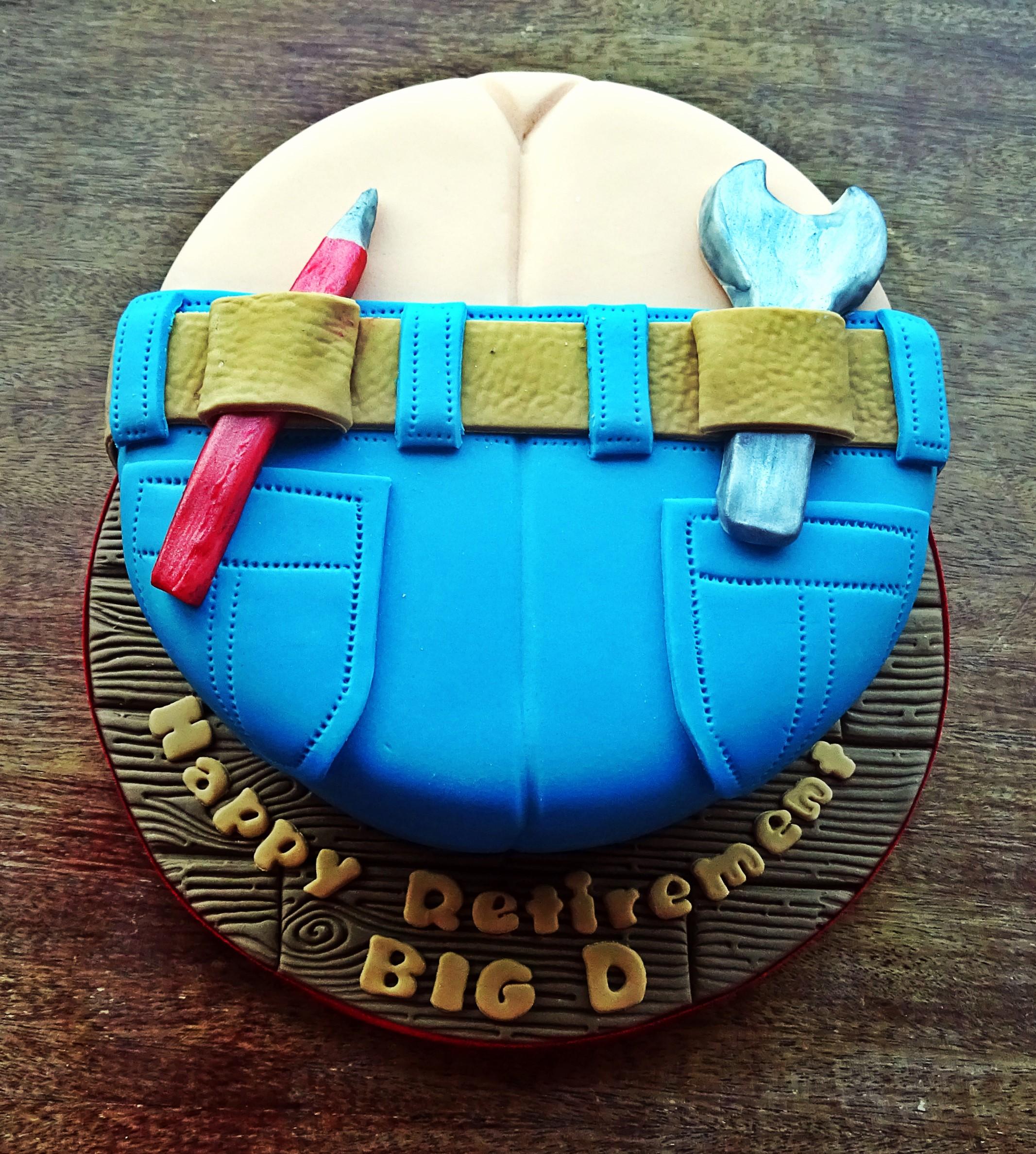 Builders Bum Cake