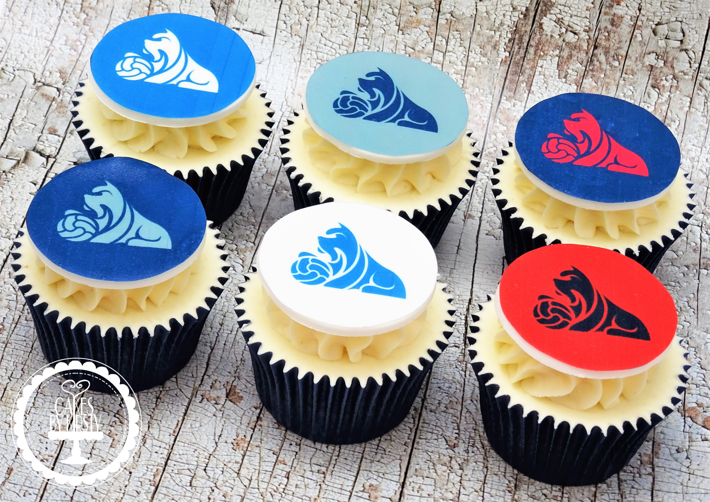 Huddersfield Town Cupcakes