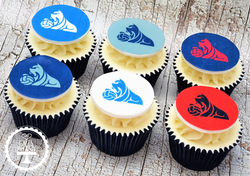Huddersfield Town Cupcakes