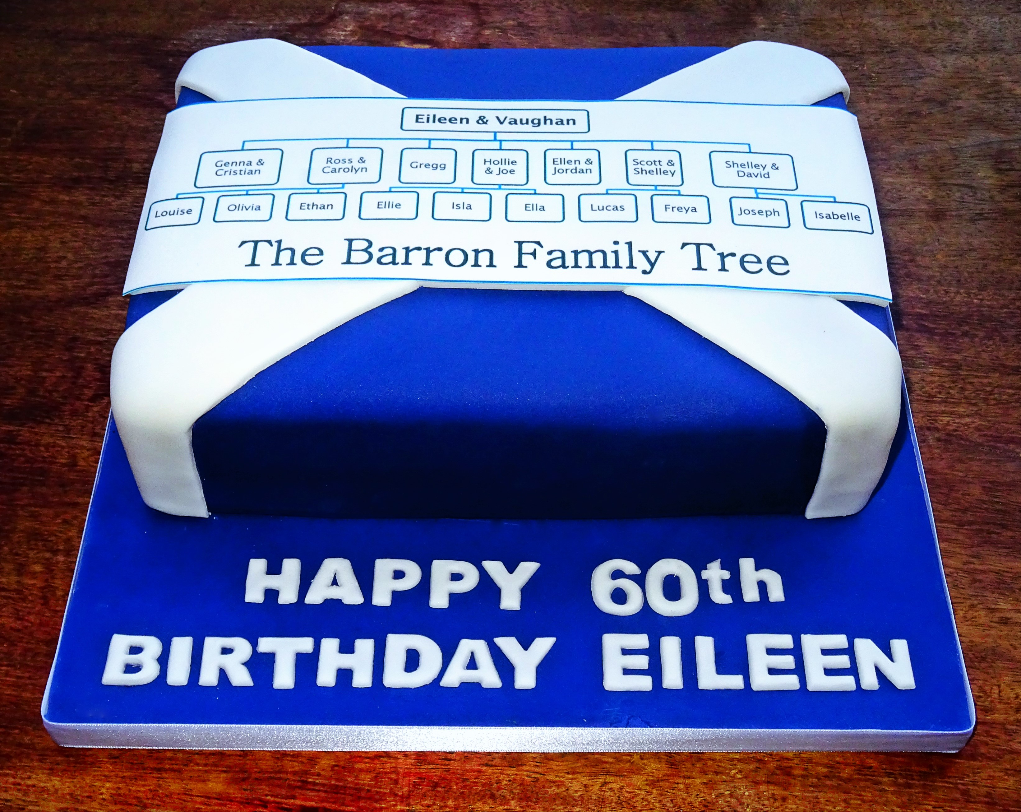 Scottish Family Tree Cake