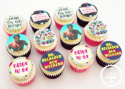 90's Hen Do Cupcakes