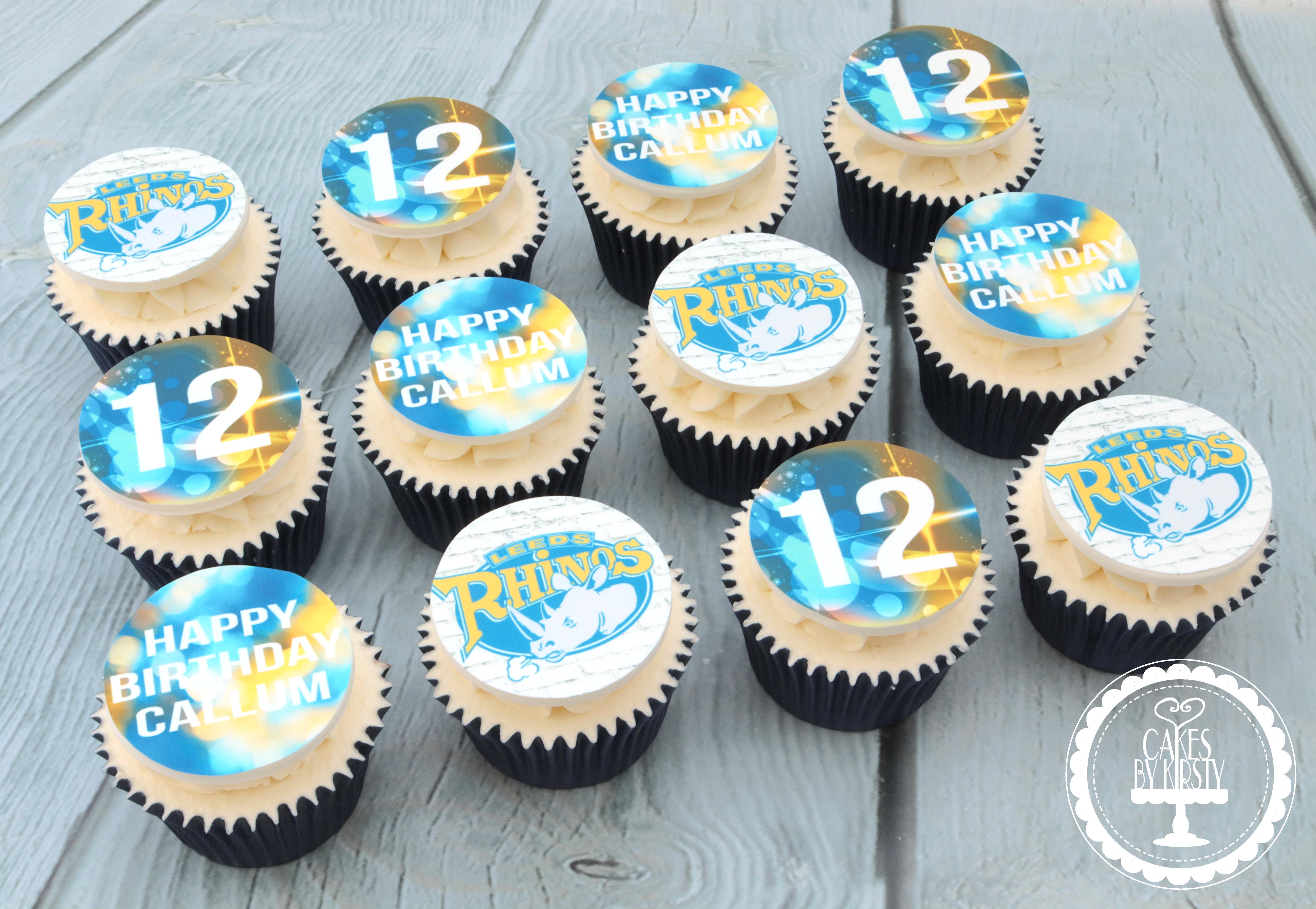 20190818 - Leeds Rhinos Cupcakes