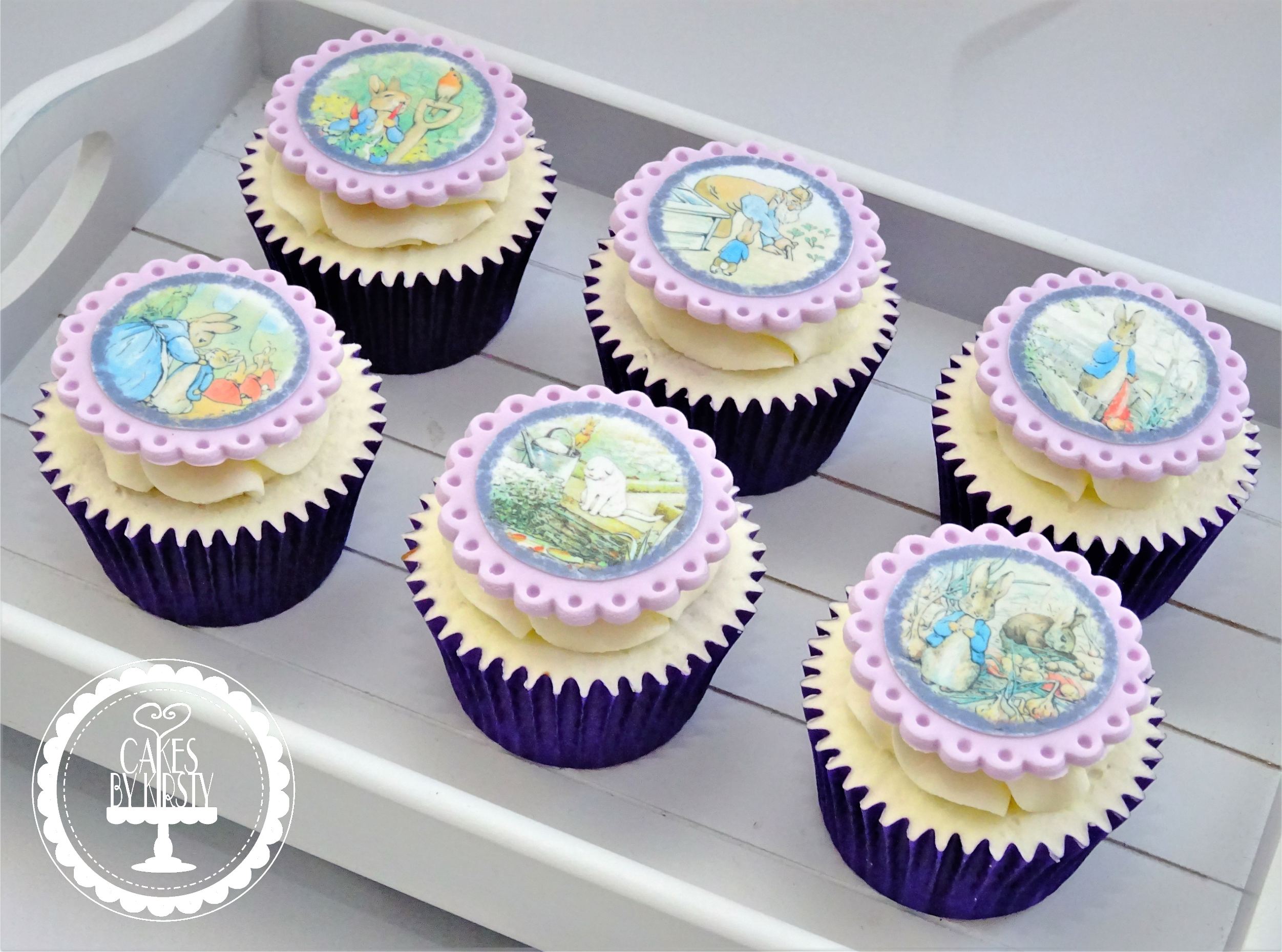 Peter Rabbit Cupcakes