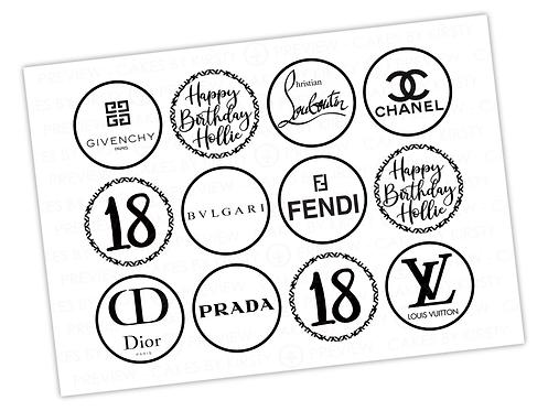 "Designer Brands - 12x 2.25"""