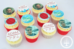 Moving to Japan Cupcakes