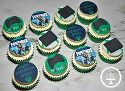 Xbox Fortnite Cupcakes