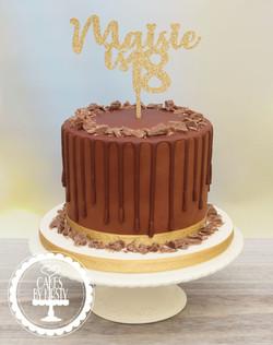 20200128 - Chocolate Drip Cake