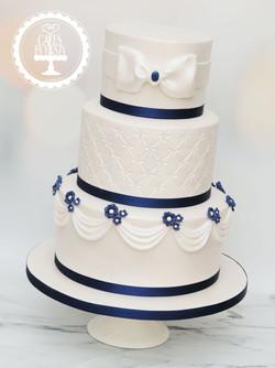 20191026 - Ivory Navy Classic Wedding Ca
