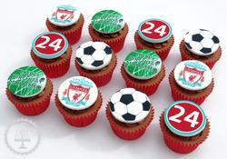 Liverpool FC Edible Image Cupcakes