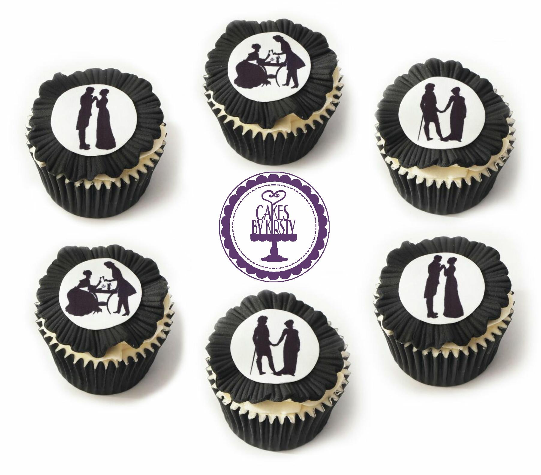 Jane Austin Cupcakes