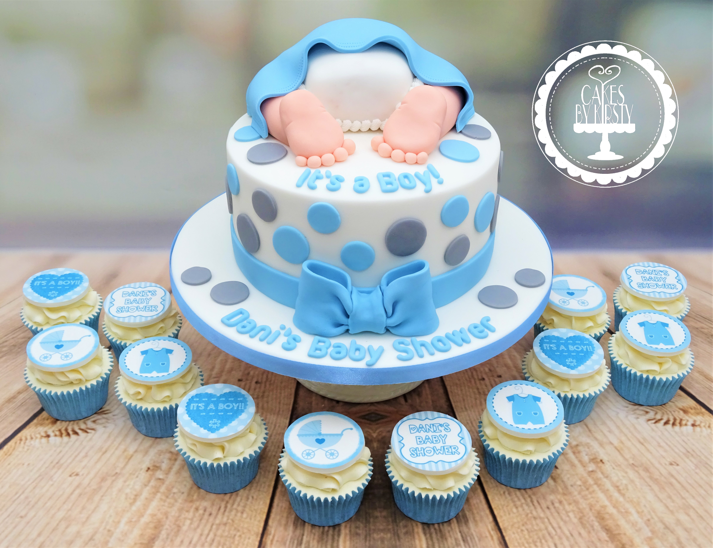 It's A Boy, Baby Bum, Baby Shower Cake &