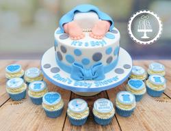 It's A Boy, Baby Bum, Baby Shower Cake &