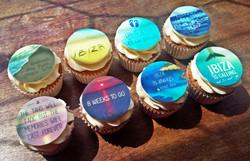 Ibiza Hen Do Cupcakes