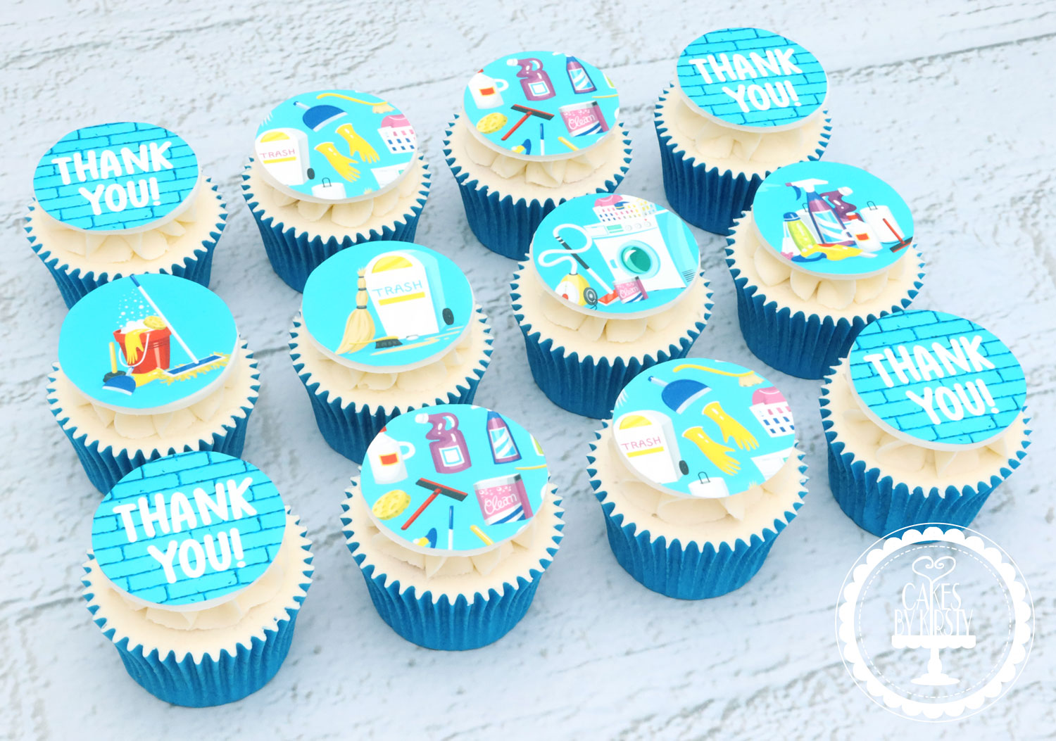 20200913 - House Move Thank You Cupcakes