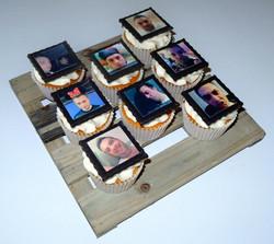 Edible Photo Cupcakes