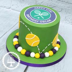 20201023 - Tennis Wimbledon Cake