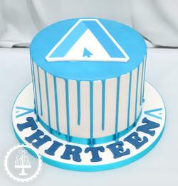 20201114 - Ascensor Corporate Logo Cake