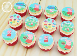 20191013 - Peppa Pig Cupcakes