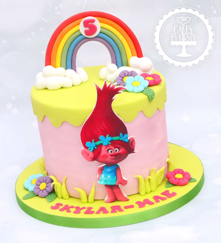 20200918 - Trolls Poppy Cake