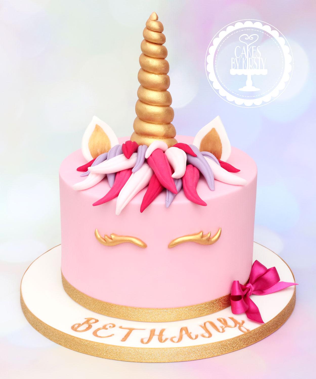 20200104 - Unicorn Cake