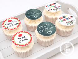 20190708 - Thank You Teacher Cupcakes