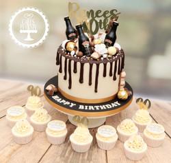 20200201 - Baileys Drip Cake & 90th Cupc