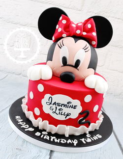 20190802 - Minnie Mouse 2nd Birthday Cak