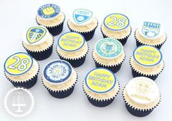 20201029 - Leeds United Cupcakes