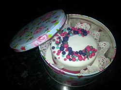 Cancer Research Cake