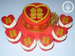 Double Happiness Cake & Cupcakes