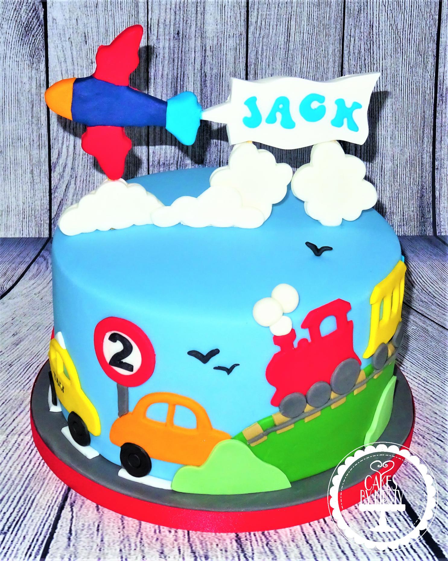 Automobile/Transport Cake