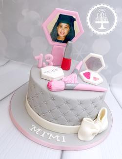 Fenty Beauty 13th Birthday Cake