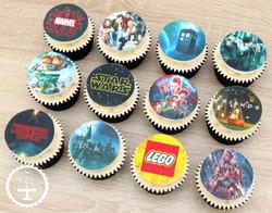 20200111 - Favourite Movie Cupcakes