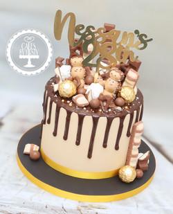20201127 - Kinder Drip Cake
