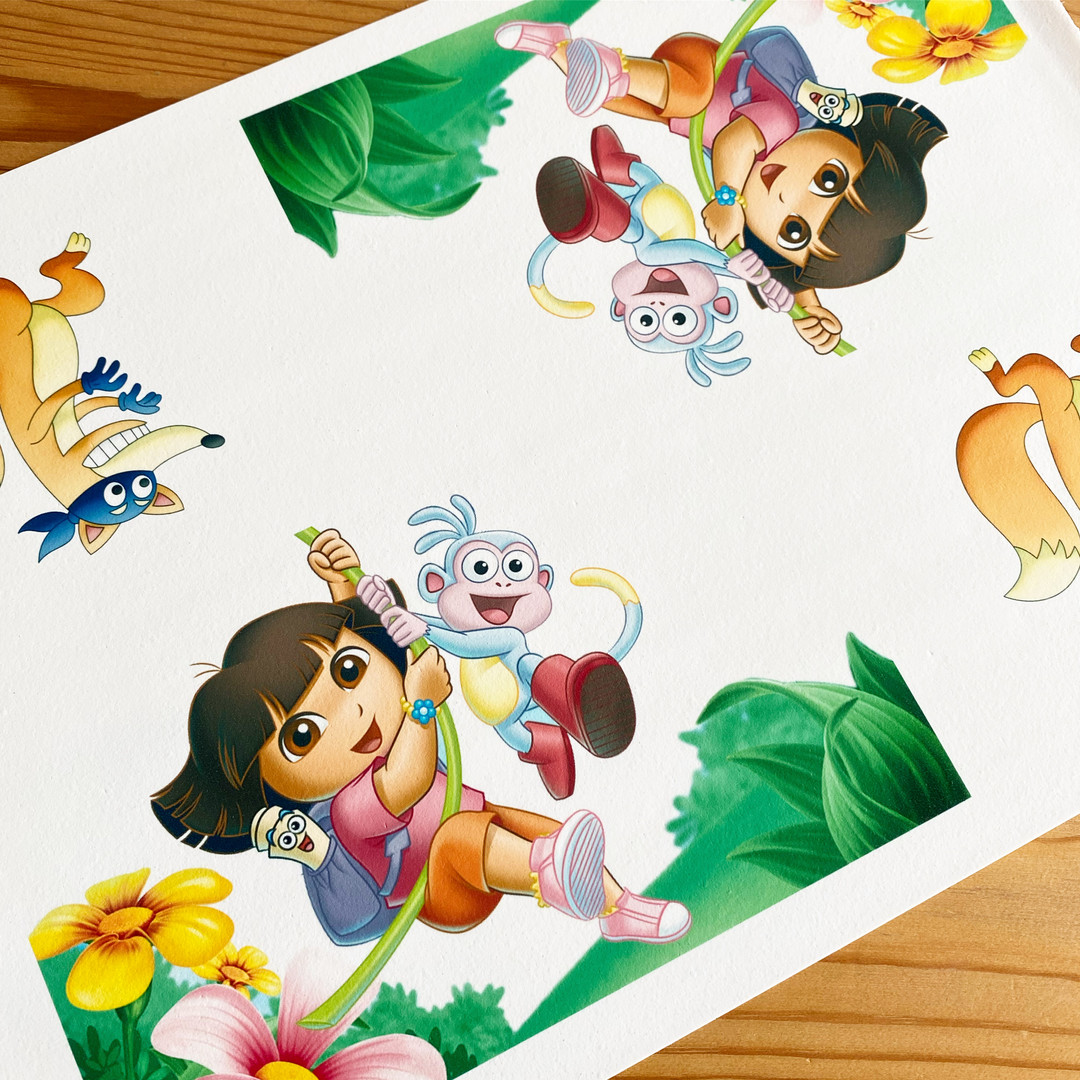 Dora The Explorer - Cake Icing Sheet