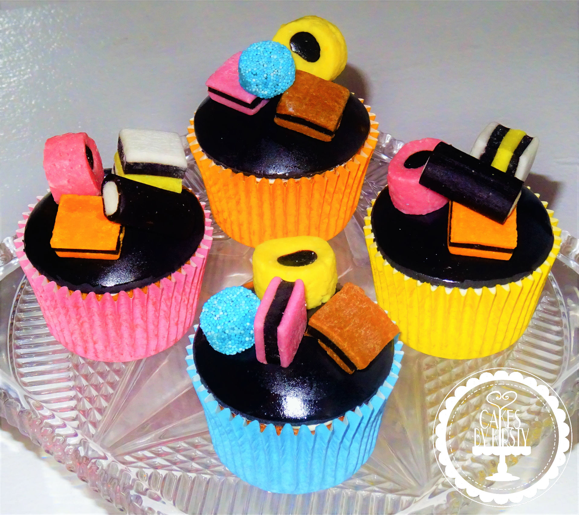 Licorice Allsorts Cupcakes