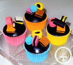 Licorice Allsorts Cupcakes