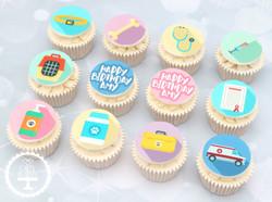 20200914 - Veterinary Cupcakes