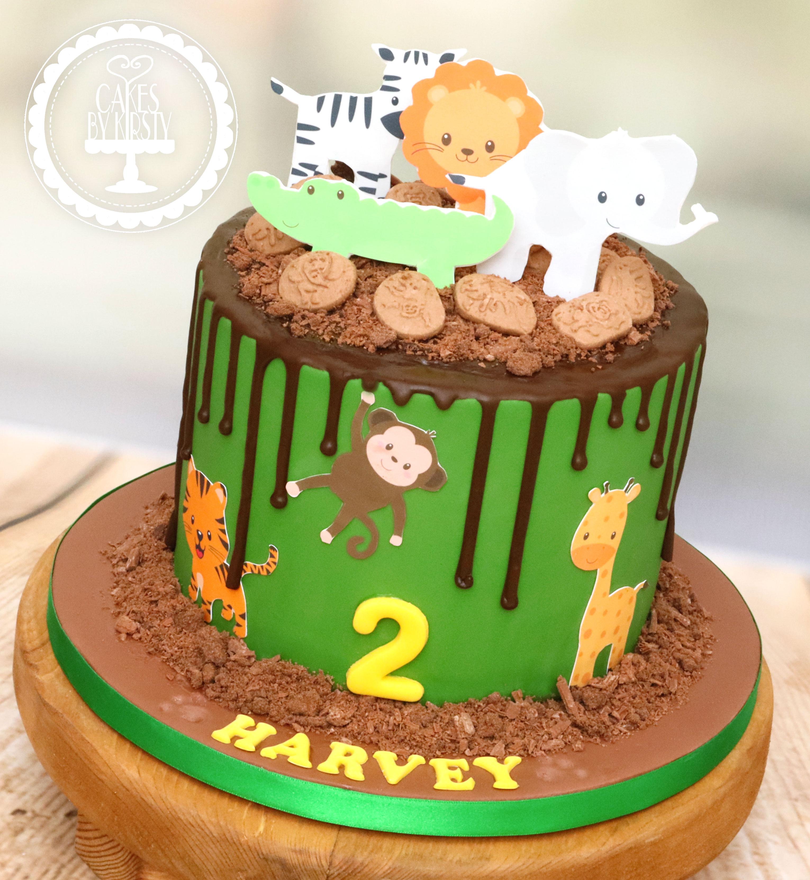 20191227 - Jungle Animals 2nd Birthday C