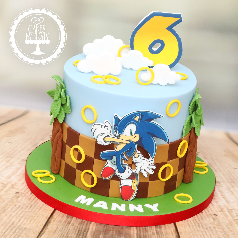 20201108 - Sonic the Hedgehog Cake