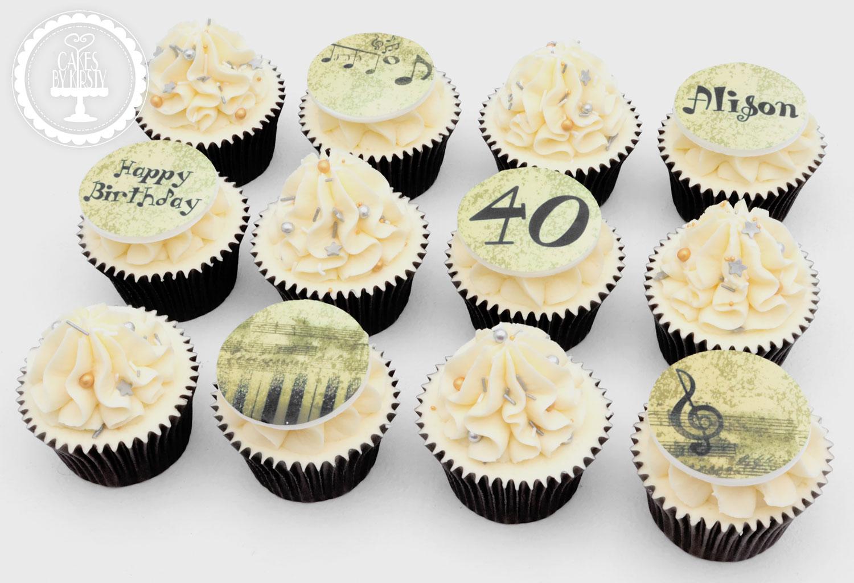 20200118 - Musician Cupcakes