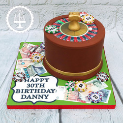 20191012 - Roulette 30th Cake