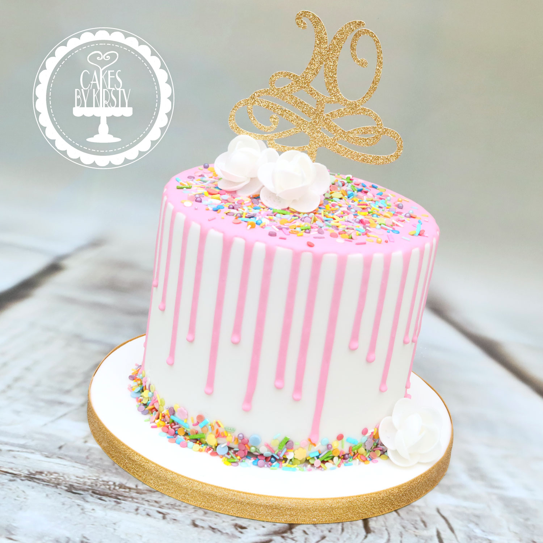 20191116 - Confetti Drip Cake