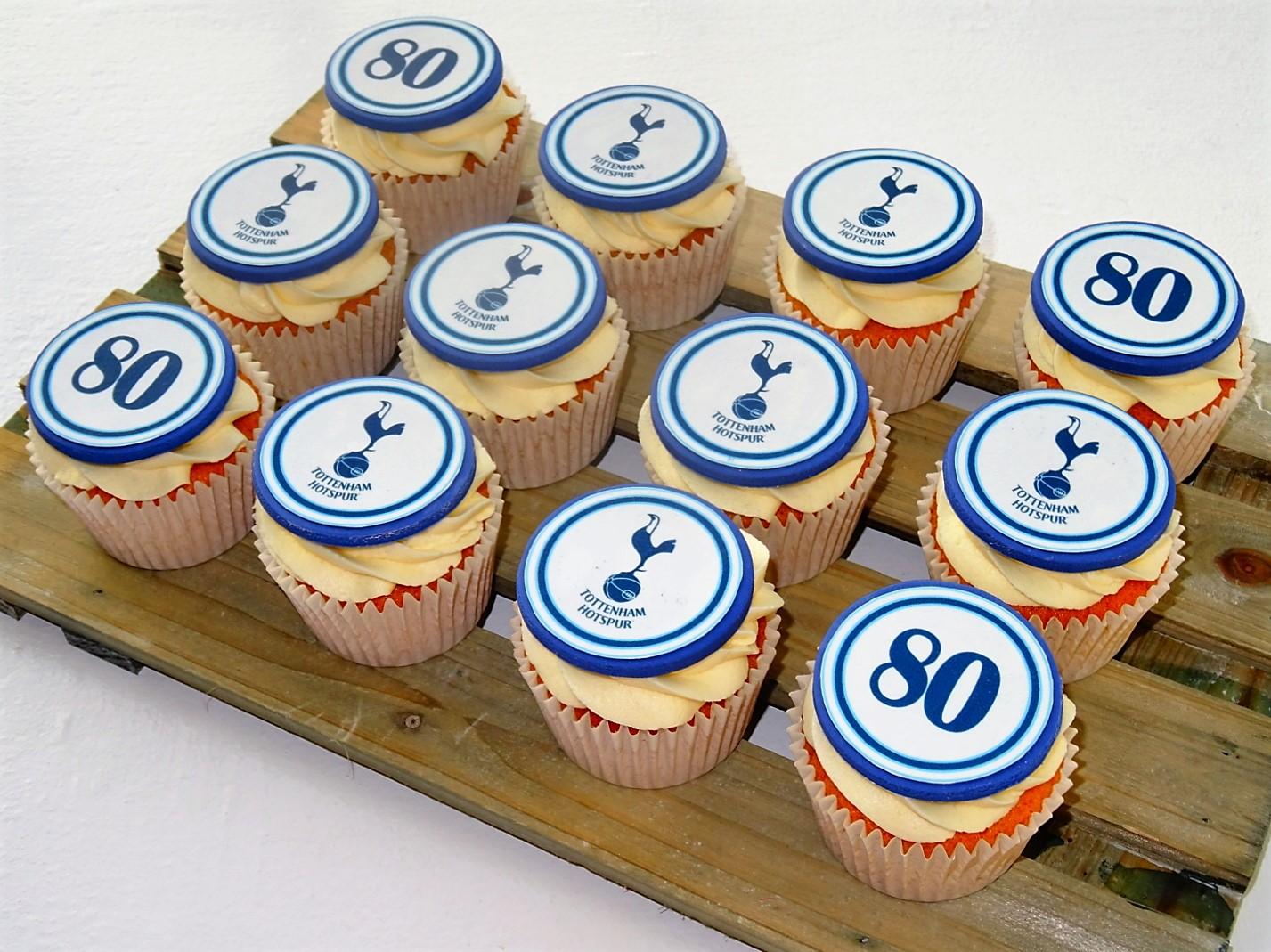 Tottenham Hotspur Cupcakes